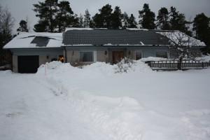 Huset med garanget i Januari 2013